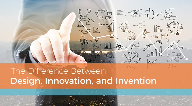 The Difference Between Design, Innovation, and Invention